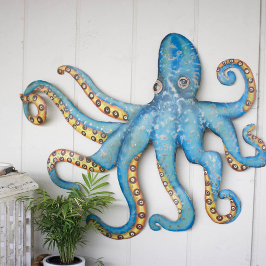 Recycled-Metal-Octopus