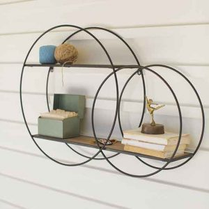 Double Circle Wall Unit